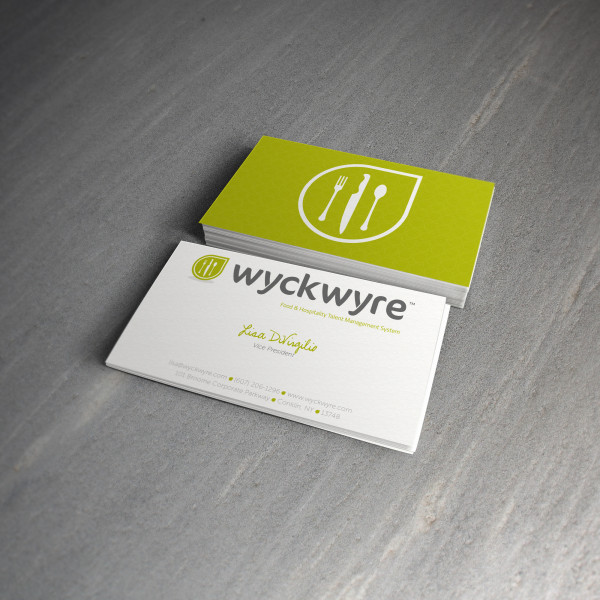WyckWyre Logo & Business Cards