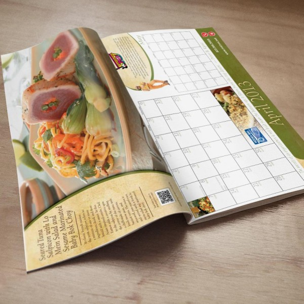 Maines Paper & Food Calendar