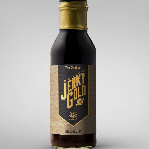 Jerky Gold Logo & Label
