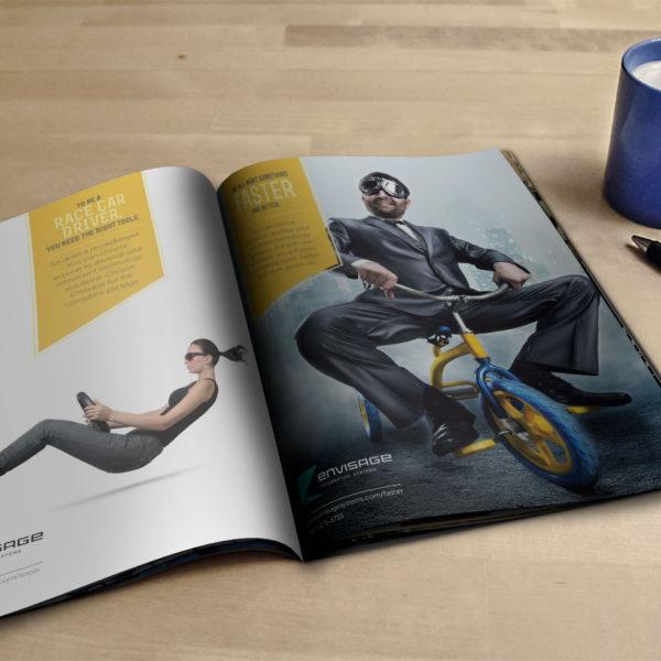 Envisage Magazine Ads