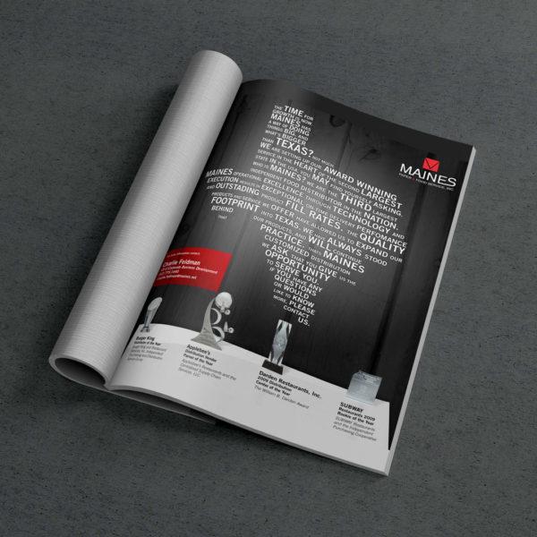 Maines Magazine Ad